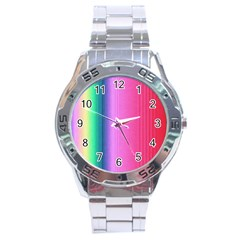 Abstract Paper For Scrapbooking Or Other Project Stainless Steel Analogue Watch