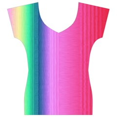 Abstract Paper For Scrapbooking Or Other Project Women s V-Neck Cap Sleeve Top