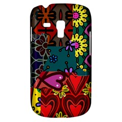 Digitally Created Abstract Patchwork Collage Pattern Galaxy S3 Mini