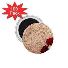 Retro Background Scrapbooking Paper 1 75  Magnets (100 Pack)