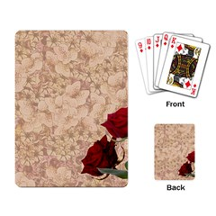 Retro Background Scrapbooking Paper Playing Card