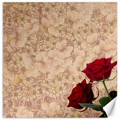 Retro Background Scrapbooking Paper Canvas 12  x 12