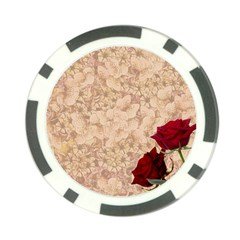 Retro Background Scrapbooking Paper Poker Chip Card Guard (10 Pack)