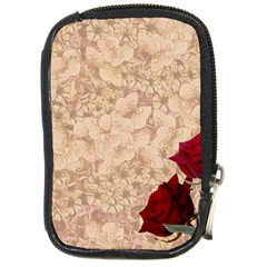 Retro Background Scrapbooking Paper Compact Camera Cases