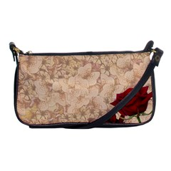 Retro Background Scrapbooking Paper Shoulder Clutch Bags
