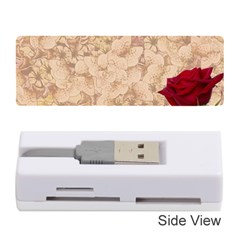 Retro Background Scrapbooking Paper Memory Card Reader (stick)