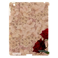 Retro Background Scrapbooking Paper Apple Ipad 3/4 Hardshell Case (compatible With Smart Cover)