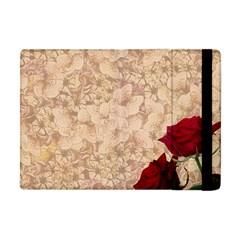 Retro Background Scrapbooking Paper Apple iPad Mini Flip Case