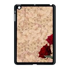 Retro Background Scrapbooking Paper Apple Ipad Mini Case (black)