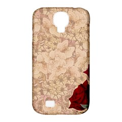 Retro Background Scrapbooking Paper Samsung Galaxy S4 Classic Hardshell Case (pc+silicone)