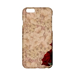 Retro Background Scrapbooking Paper Apple Iphone 6/6s Hardshell Case