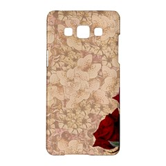 Retro Background Scrapbooking Paper Samsung Galaxy A5 Hardshell Case