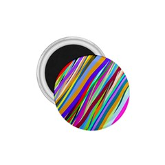 Multi Color Tangled Ribbons Background Wallpaper 1 75  Magnets