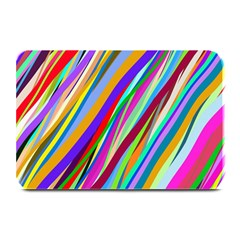 Multi Color Tangled Ribbons Background Wallpaper Plate Mats