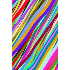 Multi Color Tangled Ribbons Background Wallpaper 5 5  X 8 5  Notebooks