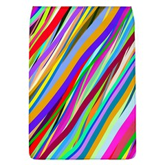 Multi Color Tangled Ribbons Background Wallpaper Flap Covers (l)