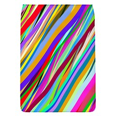 Multi Color Tangled Ribbons Background Wallpaper Flap Covers (s)