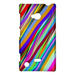 Multi Color Tangled Ribbons Background Wallpaper Nokia Lumia 720