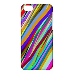 Multi Color Tangled Ribbons Background Wallpaper Apple Iphone 5c Hardshell Case
