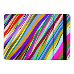 Multi Color Tangled Ribbons Background Wallpaper Samsung Galaxy Tab Pro 10 1  Flip Case