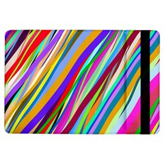 Multi Color Tangled Ribbons Background Wallpaper Ipad Air Flip