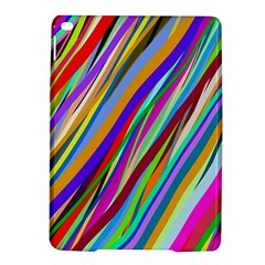 Multi Color Tangled Ribbons Background Wallpaper iPad Air 2 Hardshell Cases