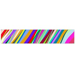 Multi Color Tangled Ribbons Background Wallpaper Flano Scarf (large)