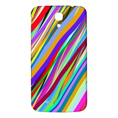 Multi Color Tangled Ribbons Background Wallpaper Samsung Galaxy Mega I9200 Hardshell Back Case