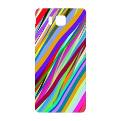 Multi Color Tangled Ribbons Background Wallpaper Samsung Galaxy Alpha Hardshell Back Case