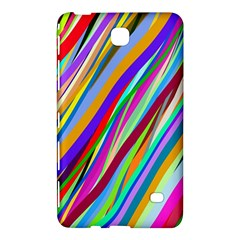Multi Color Tangled Ribbons Background Wallpaper Samsung Galaxy Tab 4 (8 ) Hardshell Case