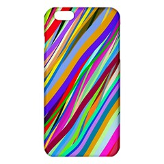 Multi Color Tangled Ribbons Background Wallpaper iPhone 6 Plus/6S Plus TPU Case