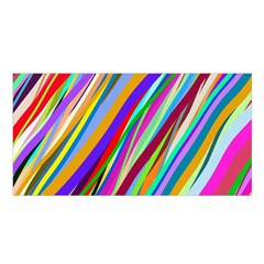Multi Color Tangled Ribbons Background Wallpaper Satin Shawl