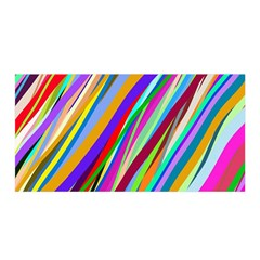 Multi Color Tangled Ribbons Background Wallpaper Satin Wrap