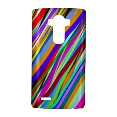 Multi Color Tangled Ribbons Background Wallpaper Lg G4 Hardshell Case