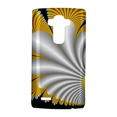 Fractal Gold Palm Tree On Black Background Lg G4 Hardshell Case