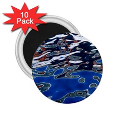 Colorful Reflections In Water 2 25  Magnets (10 Pack)