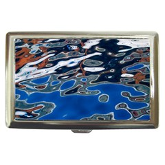 Colorful Reflections In Water Cigarette Money Cases