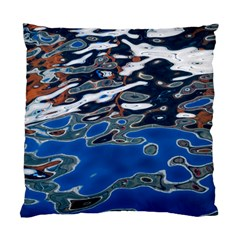 Colorful Reflections In Water Standard Cushion Case (two Sides)
