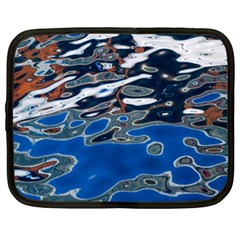 Colorful Reflections In Water Netbook Case (xl)