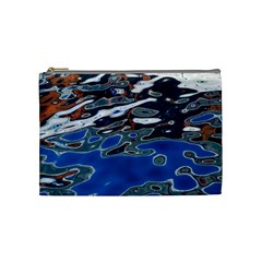 Colorful Reflections In Water Cosmetic Bag (medium)