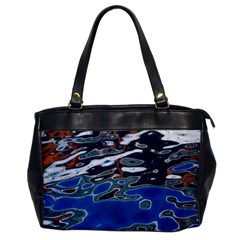Colorful Reflections In Water Office Handbags