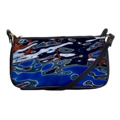 Colorful Reflections In Water Shoulder Clutch Bags