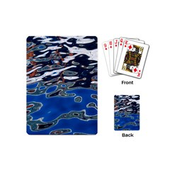 Colorful Reflections In Water Playing Cards (Mini)