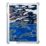 Colorful Reflections In Water Apple iPad 3/4 Case (White) Front