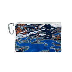 Colorful Reflections In Water Canvas Cosmetic Bag (s)
