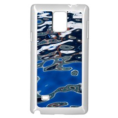 Colorful Reflections In Water Samsung Galaxy Note 4 Case (white)