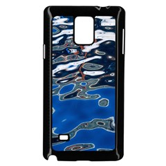 Colorful Reflections In Water Samsung Galaxy Note 4 Case (Black)