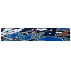 Colorful Reflections In Water Flano Scarf (large)