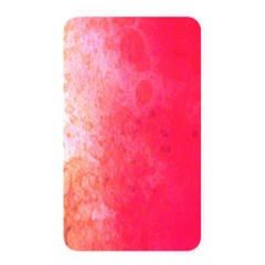 Abstract Red And Gold Ink Blot Gradient Memory Card Reader