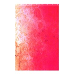 Abstract Red And Gold Ink Blot Gradient Shower Curtain 48  X 72  (small)
